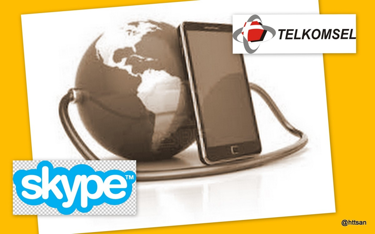 Alternatif Komunikasi Murah Meriah via Telkomsel dan Skype